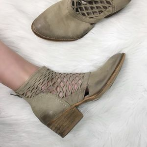 LF Sole Child Tan Leather Booties Ankle Boots